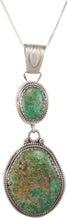 Load image into Gallery viewer, Navajo Native American Lander County Variscite Pendant Necklace SKU230003