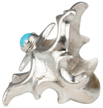 Load image into Gallery viewer, Navajo Native American Sleeping Beauty Turquoise Ring Size 6 1/2 SKU230182
