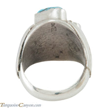Load image into Gallery viewer, Navajo Native American Kingman Turquoise and Coral Ring Size 10 1/2 SKU230344