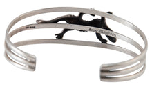 Load image into Gallery viewer, Navajo Native American Gecko Sterling Silver Bracelet by Thompson SKU230517