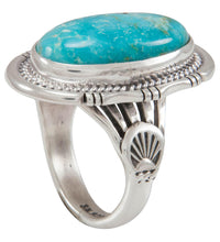 Load image into Gallery viewer, Navajo Native American Sunnyside Mine Turquoise Ring Size 9 SKU230622