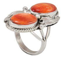 Load image into Gallery viewer, Navajo Native American Orange Shell Ring Size 6 3/4 by Largo SKU230895