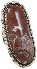 Load image into Gallery viewer, Navajo Native American Wild Horse Magnesite Ring Size 6 1/2 SKU230898