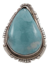 Load image into Gallery viewer, Navajo Native American Larimar Ring Size 8 1/2 by Scott Skeets SKU230902