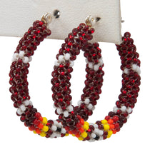 Load image into Gallery viewer, Navajo Native American Seed Bead Earring by JT Willie SKU231342