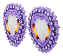 Load image into Gallery viewer, Navajo Native American Seed Bead Earring by JT Willie SKU231348