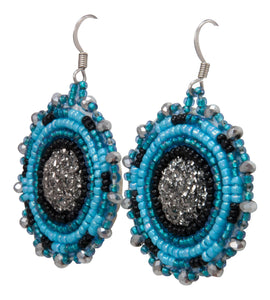 Navajo Native American Seed Bead Earring by JT Willie SKU231352