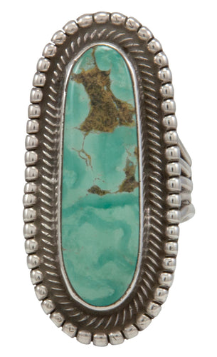 Navajo Native American Royston Turquoise Ring Size 6 3/4 by Rick Martinez SKU231496
