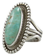 Load image into Gallery viewer, Navajo Native American Royston Turquoise Ring Size 8 by Rick Martinez SKU231500