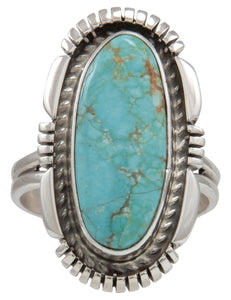 Navajo Native American Royston Turquoise Ring Size 9 3/4 SKU231503