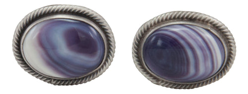 Navajo Native American Wampum Shell Cuff Links by Richard Jim SKU231610