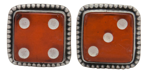 Navajo Native American Vintage Dice Cuff Links by Willeto SKU231622