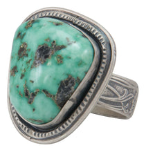 Load image into Gallery viewer, Navajo Native American Nevada Variscite Size 9 1/2 by Willeto SKU231633
