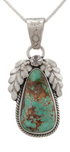 Load image into Gallery viewer, Navajo Native American Royston Turquoise Pendant Necklace by Martha Willeto SKU231658