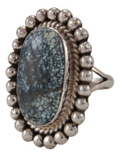 Load image into Gallery viewer, Navajo Native American New Lander Chalcosiderite Ring Size 8 1/2 by Spencer SKU231689