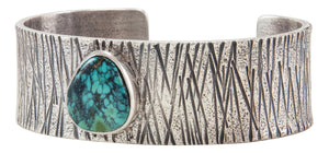 Navajo Native American New Landers Turquoise Bracelet by Monty Claw SKU231877