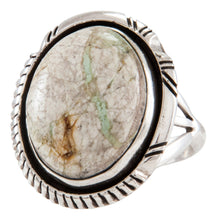 Load image into Gallery viewer, Navajo Native American Royston Boulder Turquoise Ring Size 6 1/4 by Johnson SKU231897