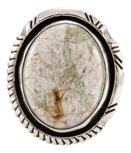 Navajo Native American Royston Boulder Turquoise Ring Size 6 1/4 by Johnson SKU231897