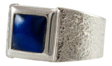 Load image into Gallery viewer, Navajo Native American Lapis Ring Size 10 1/2 by Monty Claw SKU231925