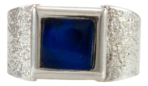 Navajo Native American Lapis Ring Size 10 1/2 by Monty Claw SKU231925