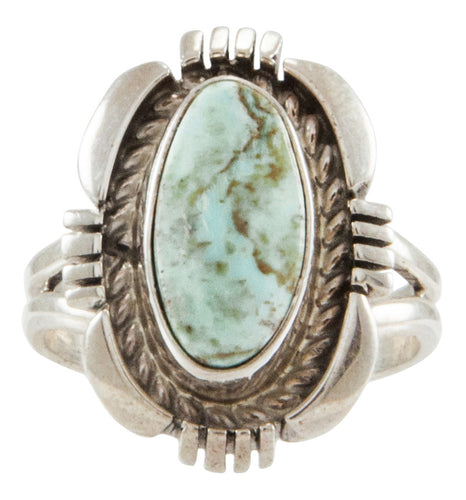 Navajo Native American Dry Creek Turquoise Ring Size 6 3/4 by Jeffery Nelson SKU231936