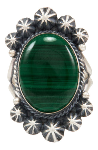 Navajo Native American Malachite Ring Size 9 1/4 by Calladitto SKU231981
