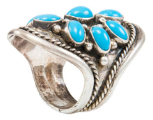 Load image into Gallery viewer, Navajo Native American Kingman Turquoise Ring Size 7 3/4 by Albert Platero SKU231990