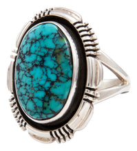 Load image into Gallery viewer, Navajo Native American Indian Mountain Turquoise Ring Size 6 3/4 by Marvin McReeves SKU232039