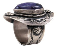 Load image into Gallery viewer, Navajo Native American Charoite Ring Size 7 by Danny Clark SKU232095