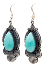 Load image into Gallery viewer, Navajo Native American Kingman Turquoise Earrings by Calladitto SKU232116
