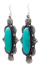 Load image into Gallery viewer, Navajo Native American Kingman Turquoise Earrings by Calladitto SKU232126