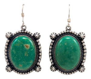 Navajo Native American Royston Turquoise Earrings by Calladitto SKU232135