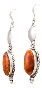 Navajo Native American Spiny Oyster Shell Earrings SKU232349