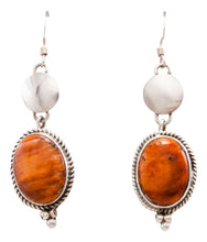 Load image into Gallery viewer, Navajo Native American Spiny Oyster Shell Earrings SKU232349