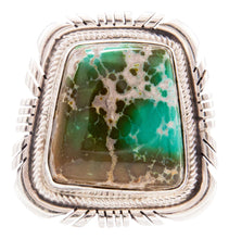 Load image into Gallery viewer, Navajo Native American Cerrillos Turquoise Ring Size 5 3/4 by Spencer SKU232628
