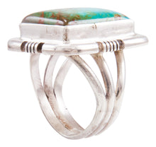Load image into Gallery viewer, Navajo Native American Royston Turquoise Ring Size 6 by Secatero