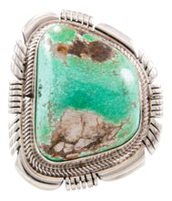 Load image into Gallery viewer, Navajo Native American Carico Lake Turquoise Ring Size 7 3/4 by Spencer SKU232649