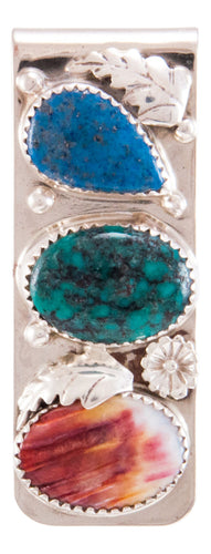Navajo Native American Turquoise Money Clip by Lorraine Bahe SKU232735