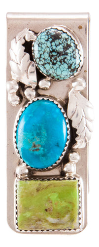 Navajo Native American Turquoise Money Clip by Lorraine Bahe SKU232737