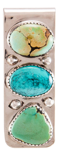 Navajo Native American Turquoise Money Clip by Lorraine Bahe SKU232739
