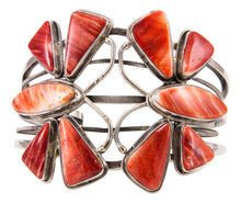 Load image into Gallery viewer, Navajo Native American Spiny Oyster Shell Butterfly Bracelet by James SKU232866