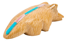 Load image into Gallery viewer, Zuni Native American Serpentine Badger Fetish by Delvin Leekya SKU232906