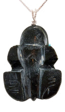 Load image into Gallery viewer, Zuni Native American Serpentine Frog Fetish Pendant Necklace by Lawaka SKU232913