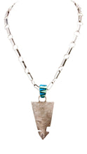 Load image into Gallery viewer, Navajo Native American Onyx and Lap Opal Pendant by House with Sterling Chain by Lee SKU232915