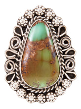 Load image into Gallery viewer, Navajo Native American Royston Turquoise Ring Size 7 1/4 by Lee SKU232961