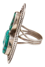 Load image into Gallery viewer, Navajo Native American Sleeping Beauty Turquoise Ring Size 7 1/2 SKU233004