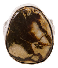 Load image into Gallery viewer, Navajo Native American Boulder Turquoise Ring Size 8 3/4 by Lee SKU233008