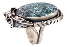 Load image into Gallery viewer, Navajo Native American New Lander Turquoise Ring Size 6 1/4 by Chee SKU233020