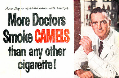 old cigarette advertisement