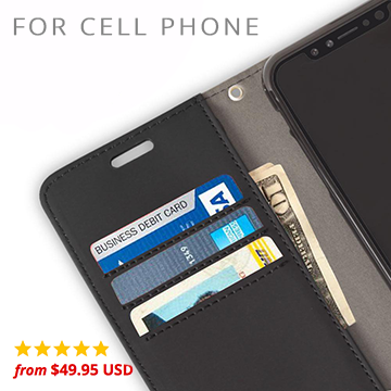 safesleeve anti-radiation and rfid blocking wallet case for cell phone collection